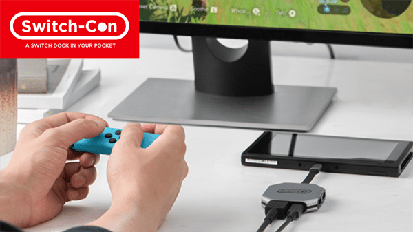 Switch-Con – This Tiny Nintendo Switch Gadget Replaces Your Docking Station! [REVIEW]