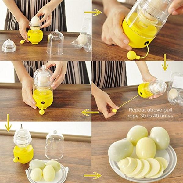 Golden Egg Maker – this little gadget will help you scramble eggs
