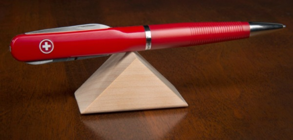 SwissPen X-1 – this pen has everything you need hidden in its shaft