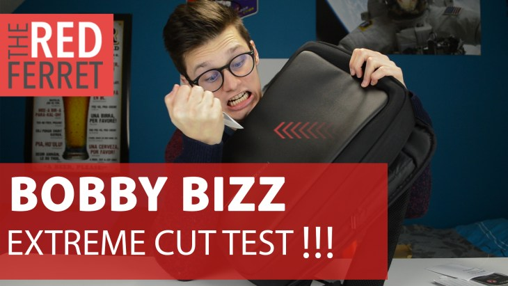 Bobby Bizz – This Backpack Transforms into A Briefcase and is Cutfree! [REVIEW] + EXTREME CUT TEST