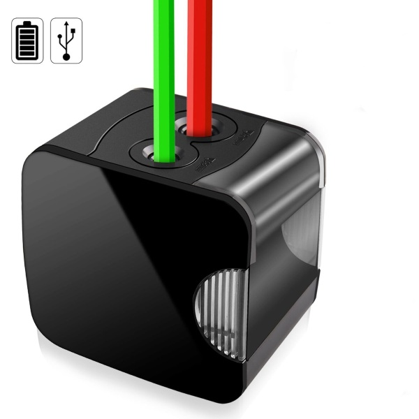OUSI Electric Pencil Sharpener – charge this common desk gadget via USB