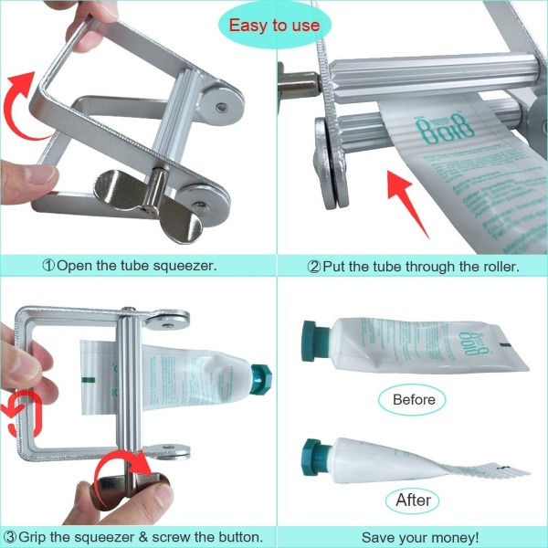 Toothpaste Squeezer – squeeze the most out of your products
