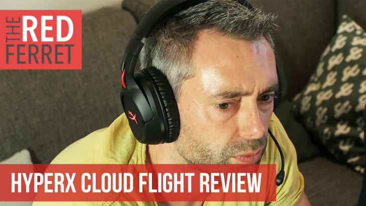 The Men Cave: The Kingston HyperX Cloud Flight Wireless Headset [REVIEW]