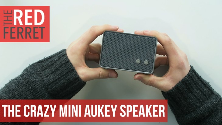 Aukey Mini Speaker – This Little BEAST is Loud! [REVIEW]