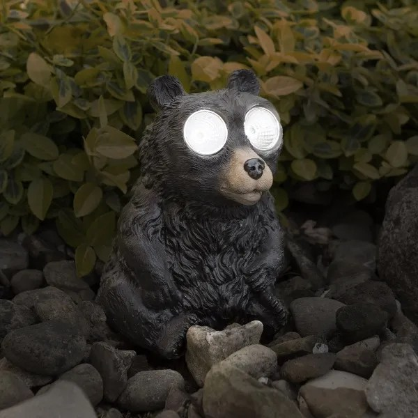 Light Up Black Bear – let his eyes guide you