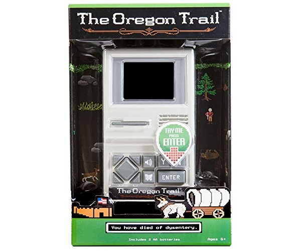 Oregon Trail Handheld Game – can you make it all the way to Oregon