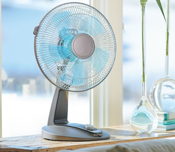 Library Quiet Tabletop Fan – keep the noise down and cool up