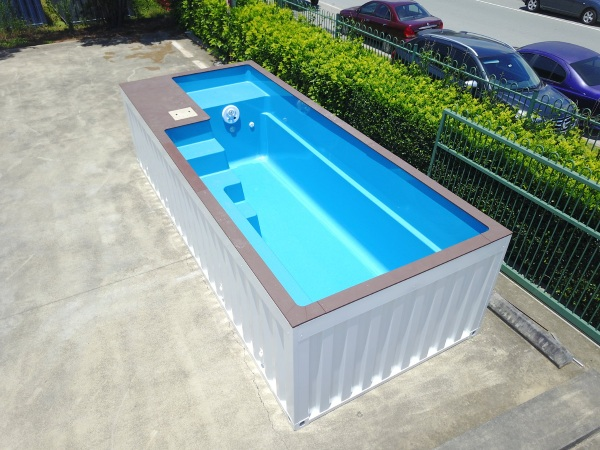Shipping Container Pool – have a cool summer with these upcycled pools