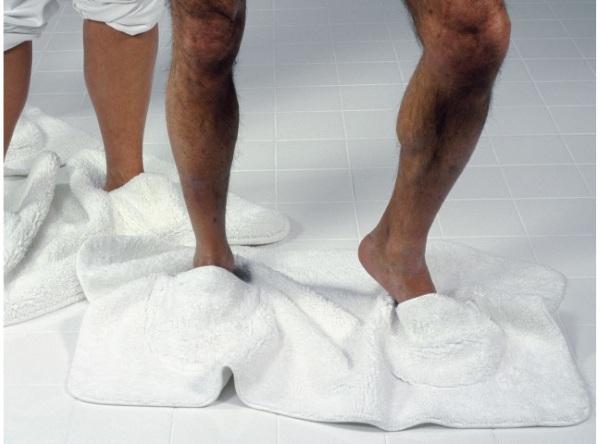 Mat Walk – the bathmat and slipper combo