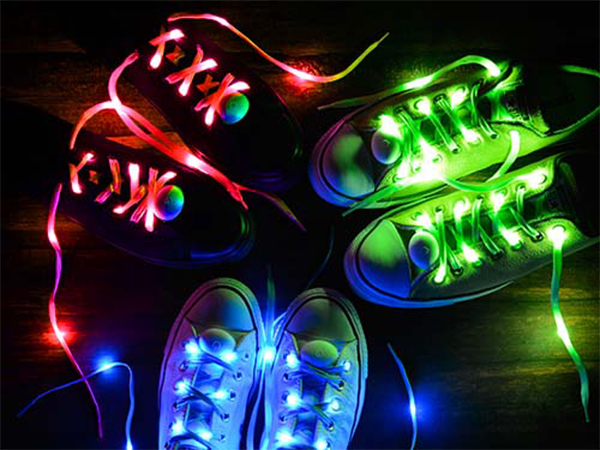 My Shoes Are Lighting Up!