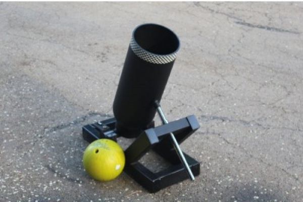 Bowling Ball Mortar Cannon – solve your problems with cannon fire