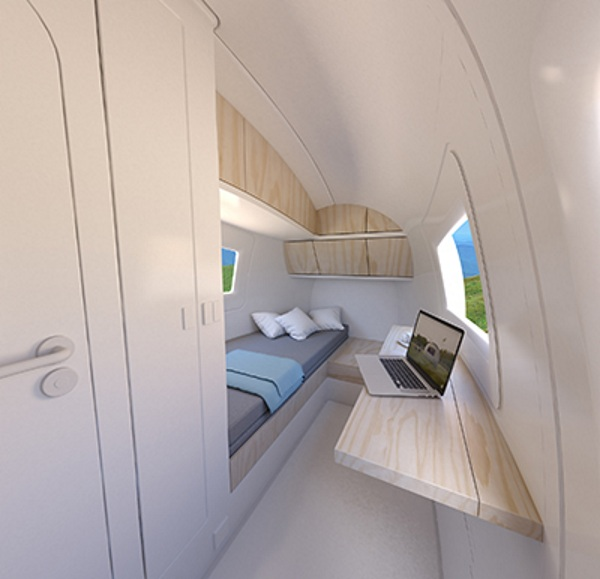 Ecocapsule – the tiny pod for comfortable off grid living