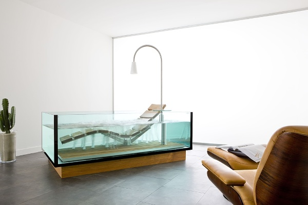 Water Lounge – lounge in your tub with this hybrid