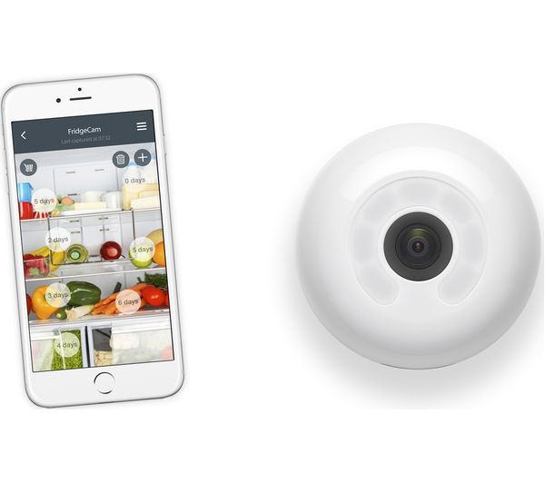 FridgeCam – keep track of what's in your fridge with your smartphone