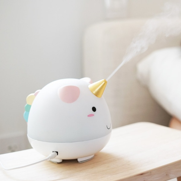 Elodie the Unicorn Humidifier – the cutest of all humidifiers