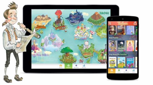 FaFaria – unlimited reading for little readers