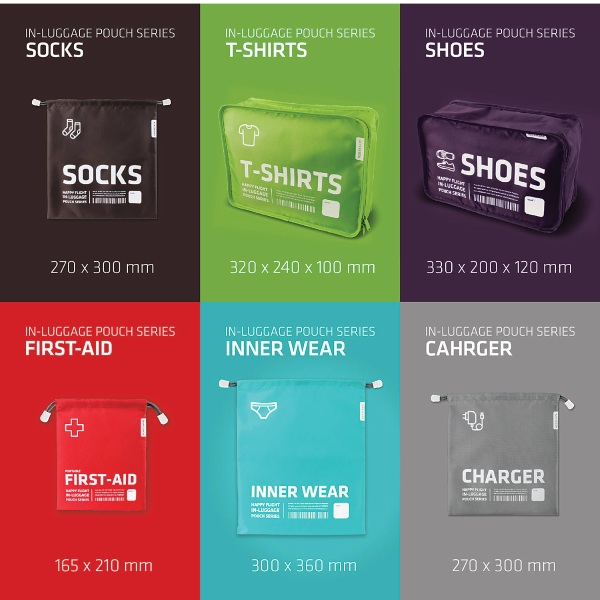 Alife Design Packing Cubes –  make packing more organized