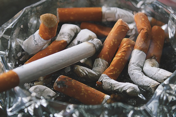 Cigarette Butts Cause Pollution – plastic filters are not great for the environment