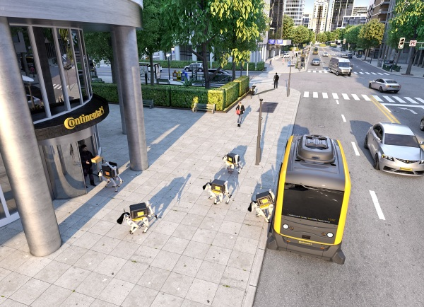 Robot Delivery Dogs – forget drones, these robo critters could be dropping off your future packages