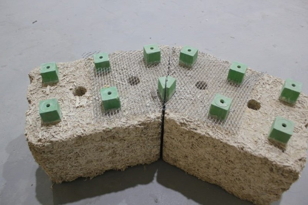 Just BioFiber – hemp brick building alternative
