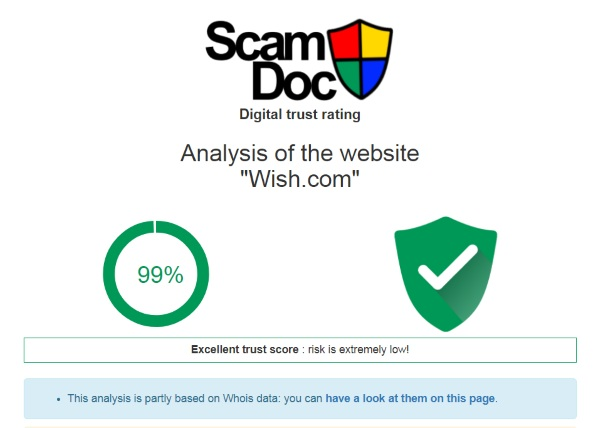 Scam Doc – check out a shop site before you give them your credit details