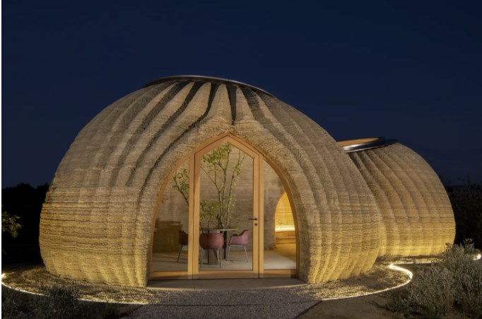 Tecla House – the world's first 3D printed house made of raw earth