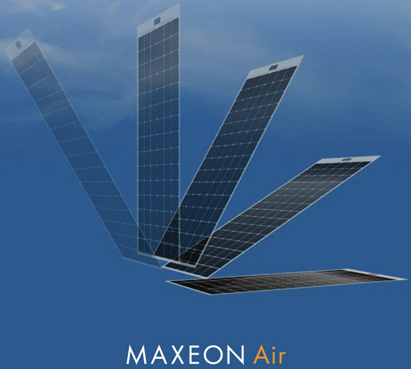 Maxeon Air 330 – these flexible solar panels are a game changer