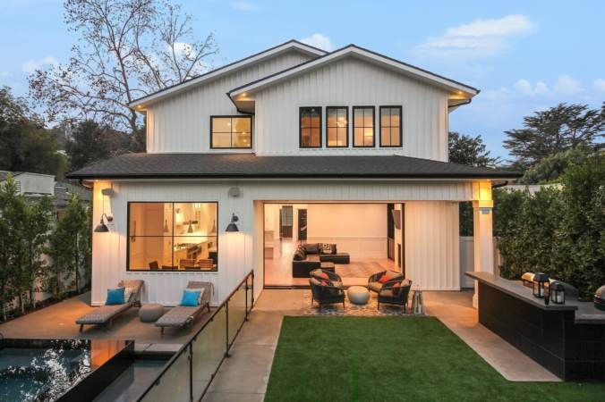 Well-lit home