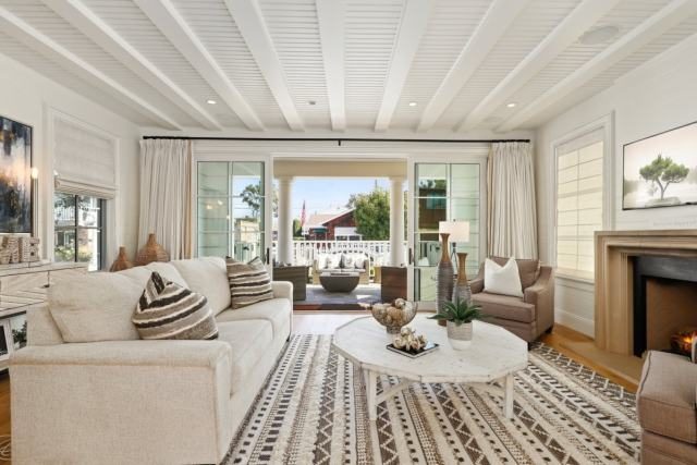 Beautiful staged home interior