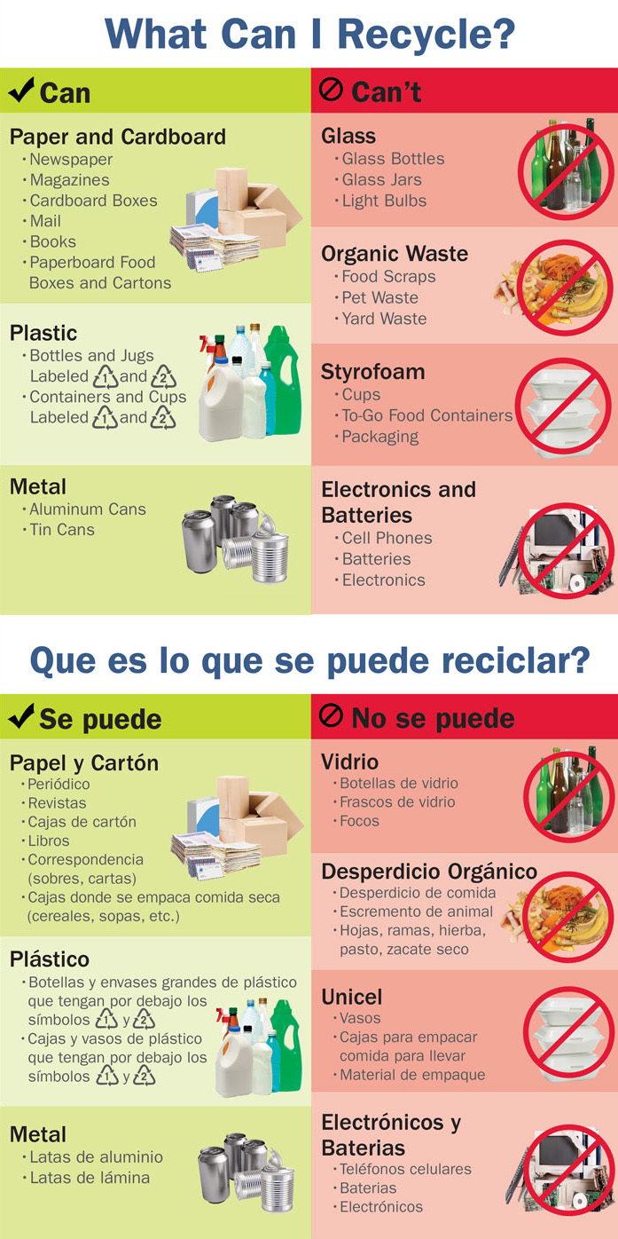 How to Recycle  RedFish Recycling  Brownsville TX