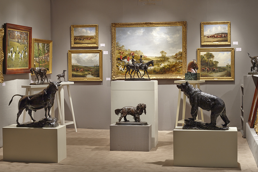 Exhibitions - Red Fox Fine Art - American & European Sporting