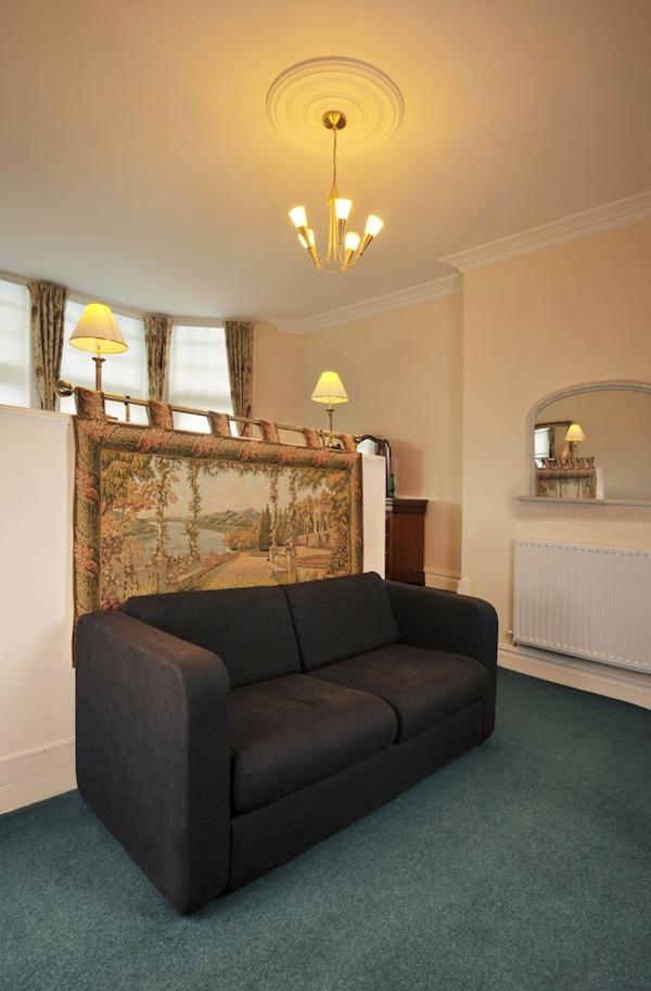 Garden Apartment Master Bedroom Sofa Bed