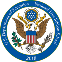 US Department of Education National Blue Ribbon School, 2018