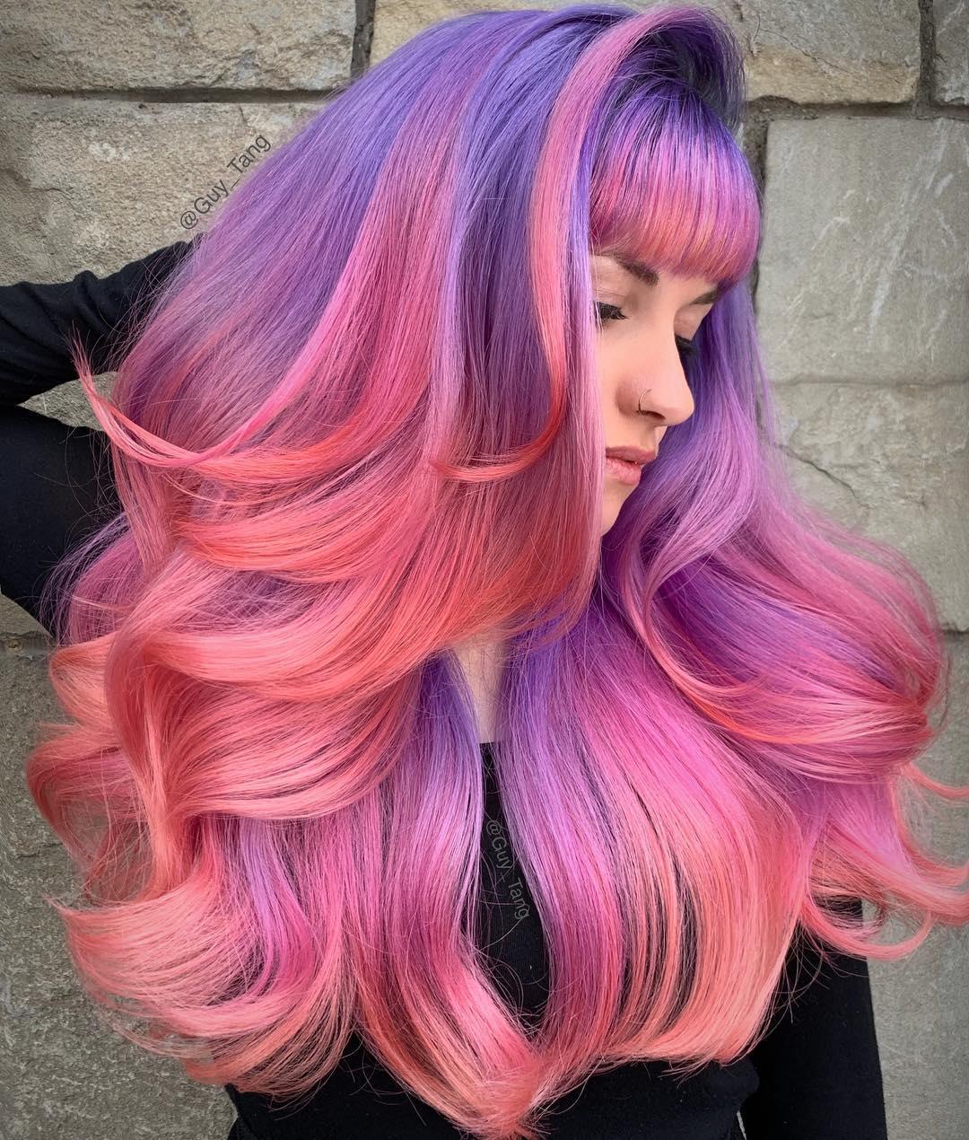 Guy Tang hair colours Hair Salons Hastings Rye Battle