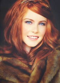 A Red Hair color from mother nature * Gorgeous Hairstyles ...