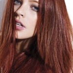 Brown Mahogany hair color