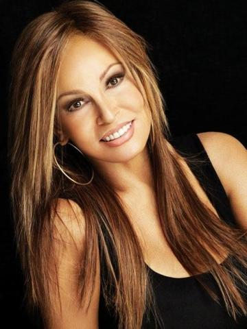 Brown hair colors with golden blonde highlights