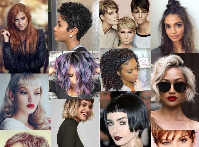 Hair Colors And Hairstyles Fall Winter 2017 2018