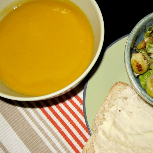 Recipe: Sweet Potato Leek Soup | Red-Handled Scissors
