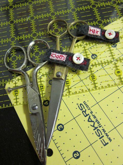 Tutorial: Scissor Saving Tags | Red-Handled Scissors