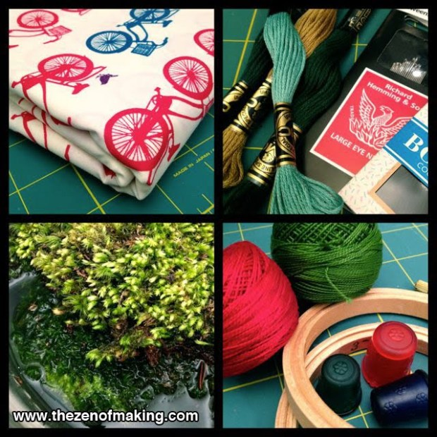 Crafting Plans for a Long Weekend | Red-Handled Scissors