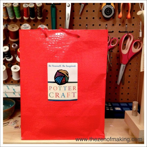Potter Craft and Potter Style Crafternoon Book Event   Red-Handled Scissors