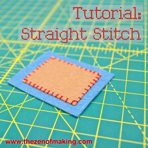 Video Tutorial: Perfect Straight Stitches   Red-Handled Scissors