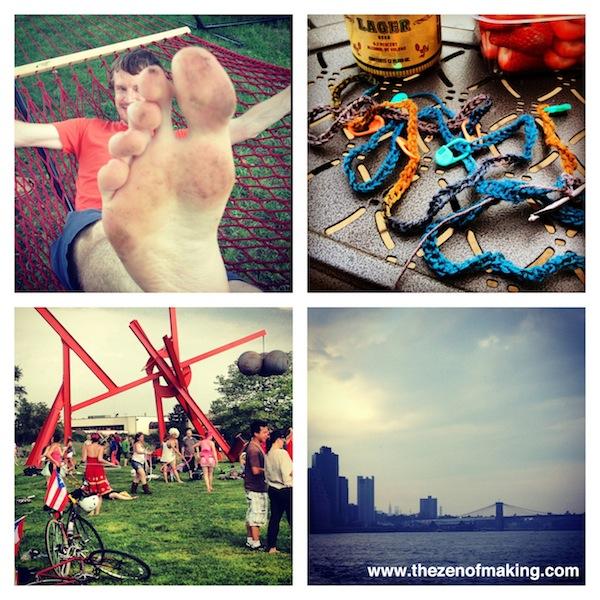 Sunday Snapshot: We Win at Weekends | Red-Handled Scissors
