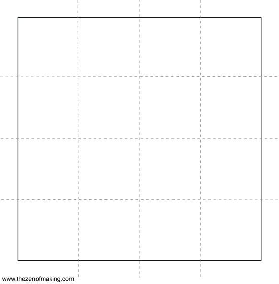 Tutorial: Acorn Block Printed Napkins | Red-Handled Scissors