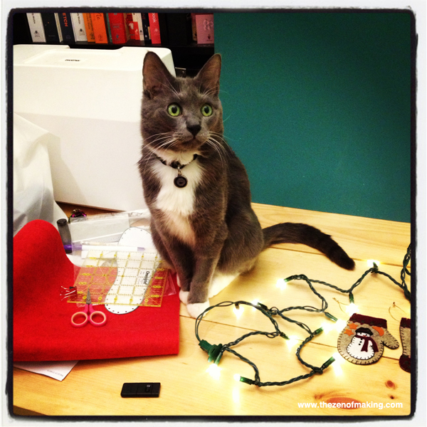 Happy Holidays from Our Cats to Yours! | Red-Handled Scissors