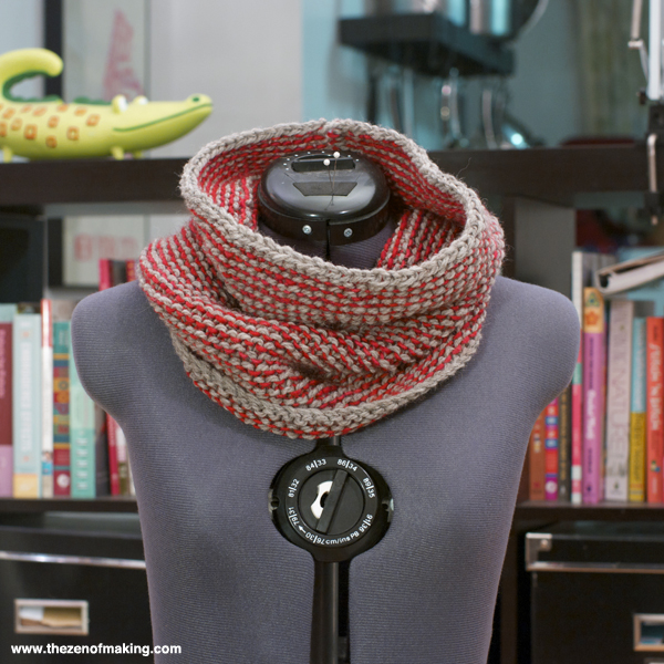 Things I Made from the Internet: Garter Gaiter | Red-Handled Scissors