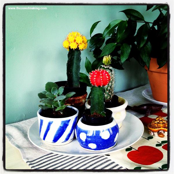 Sunday Snapshot: Handmade Ceramics | Red-Handled Scissors