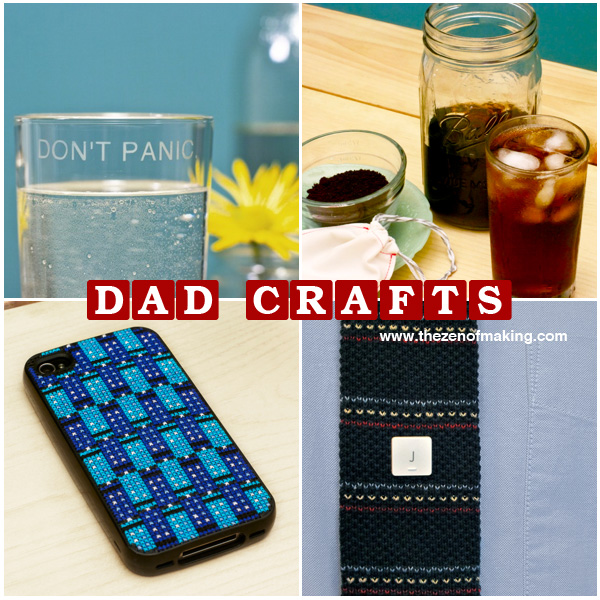 Friday Internet Crushes: Dad Craft Roundup | Red-Handled Scissors