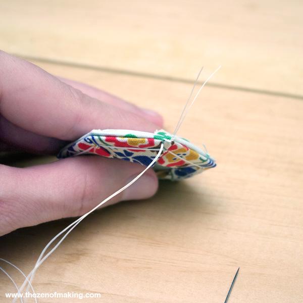 Tutorial: English Paper Piecing, Hexies Part 2 | Red-Handled Scissors